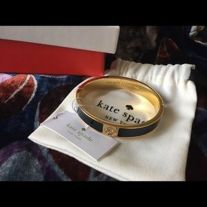NWT Kate Spade ♠️ black bracelet - Christmas gift