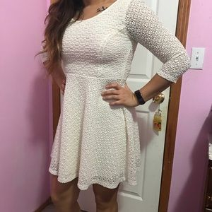 Nordstrom Lush dress in Ivory