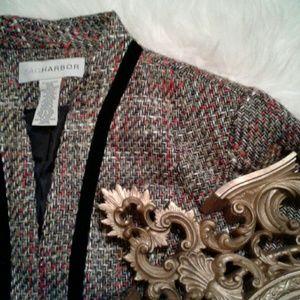 ❌14 Sag Harbor Multicolor Knit Blazer