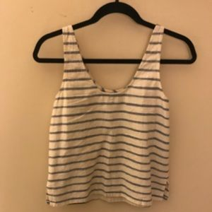 Madewell Slightly Cropped Knitted Tank Top