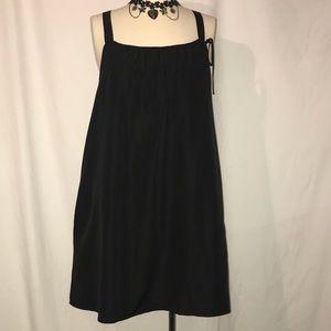 Gap Aline black mini dress