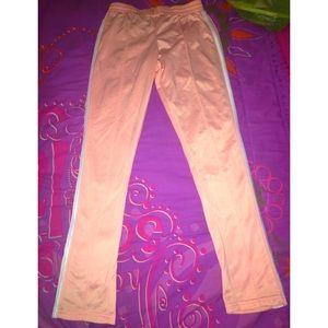 Pants - PINK/SALMON COLORED TRACK PANTS ✨