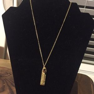 NWT Gold Bar Marc Jacobs Necklace