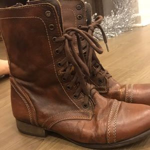 Steve Madden Troopa Combat Boots size 9.5