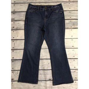 Lane Bryant bootcut denim jeans 18