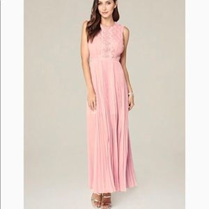 NWT Bebe maxi dress