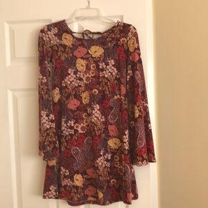 American Rag floral print dress small