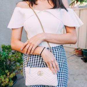 Authentic Gucci GG Marmont Handbag