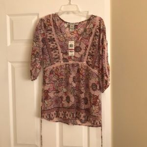 American Rag top/blouse XXS NWT