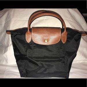 Longchamp mini nylon tote