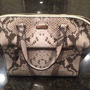 Kate Spade Python Print Handbag