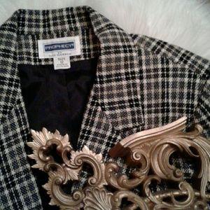 ❌12 Prophecy Plaid Wool Winter Blazer Jacket