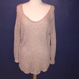 Free People knit sweater
