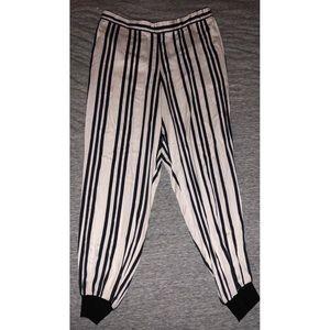 Alice + Olivia Variegated Stripe pants