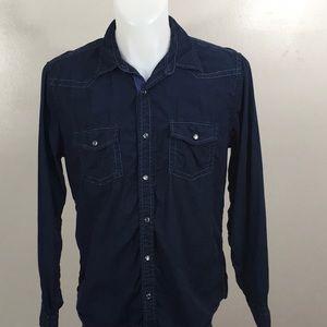 Express Men's Casual Button-up Shirt