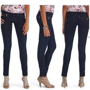 White House Black Market Ankle Zip Skinny Jeans