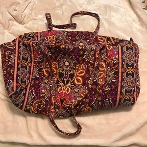 Vera Bradley large duffle - safari sunset