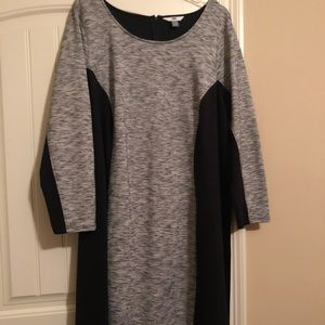Back and grey dress 4xl