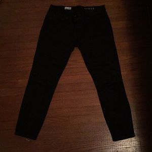 Gap black legging jeans 1969 29s