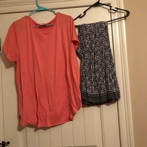 Pants - Size 3xl top paired with size 26/28 pants