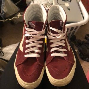 Vans Maroon High Tops