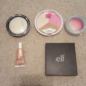 Wet n Wild, Makeup Revolution Blush/highlighter