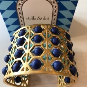 Stella and Dot beaded abacus cuff