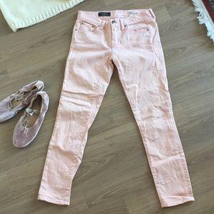 J Crew Toothpick Ankle Jeans Pants 26