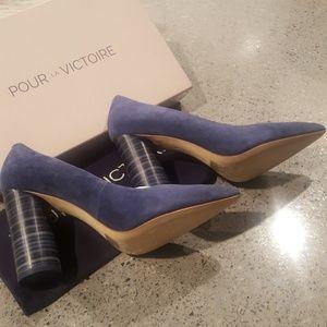 🎉💕New In Box Blue Pour La Victoire Cece Pump🎉💕