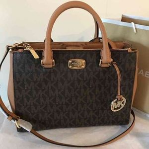 Michael Kors Kellen Medium Satchel Bag