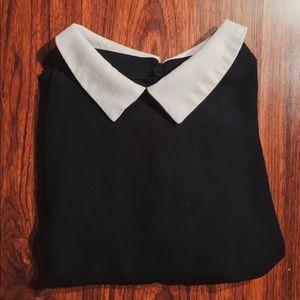 One Clothing Peter Pan Collar Blouse