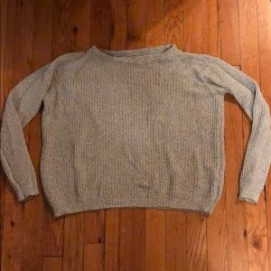 Basic grey heather sweater