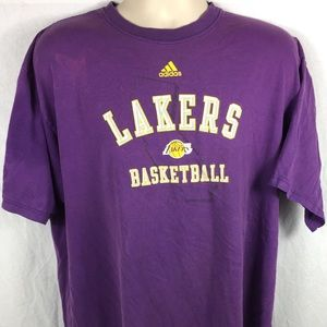 Adidas Los Angeles Lakers NBA Graphic Mens T-Shirt