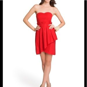 Alice by Temperly Strapless Tulip Dress