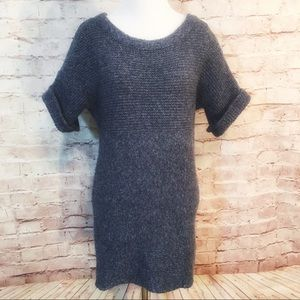 Anthropologie Kinji Cable Knit Long Sweater