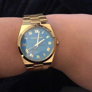 Michael Kors Watch with Turquoise Face