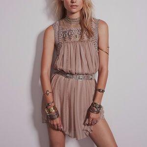 Free People Penny Georgette Babylon Dress S
