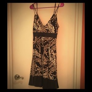 FUN multi-colored party dress from Express!