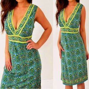 Max Studio Lime Green Sleeveless Dress XL