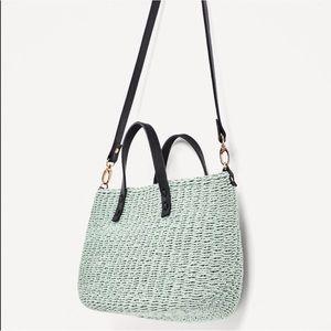 Zara braided bag