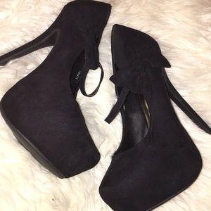Black Charlotte Rousse Heels