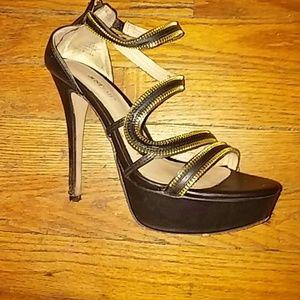 6 inch strappy heels