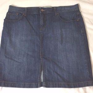 Gap Factory Size 16 Denim Jean Skirt