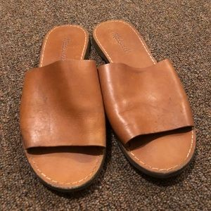Madewell Leather Brown Sandals