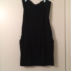 Black Susana Monaco tube dress