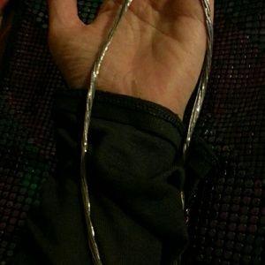 Jewelry - Flash saleVintage 10 strand sterling liquid silver