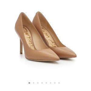 Sam Edelman dea sz 8.5 heels cream pumps leather