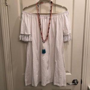 Cotton & tassels  -  wear off or on shoulders