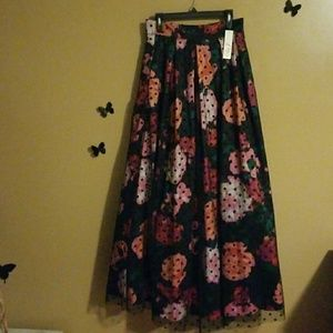 Floral Pop Art Skirt