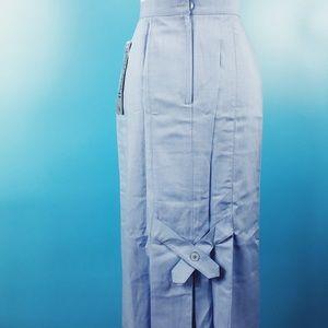 Vtg 80s High Waisted Crisscross Pencil Skirt S